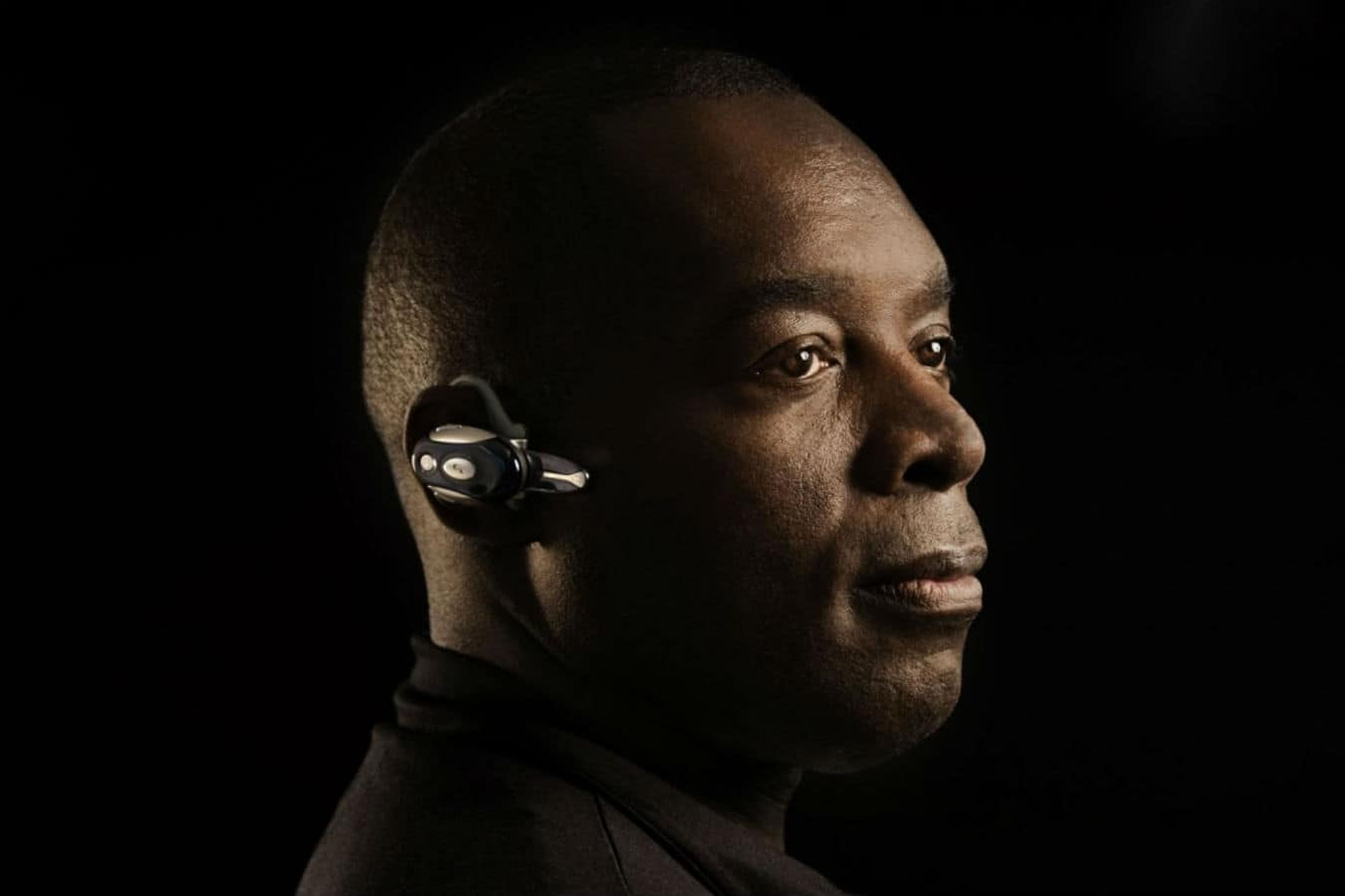 Kevin Saunderson Profile Color Press Photo