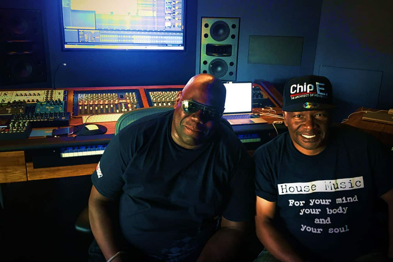 "Carl Cox and Chip E Rework House Classic ""Time To Jack"""