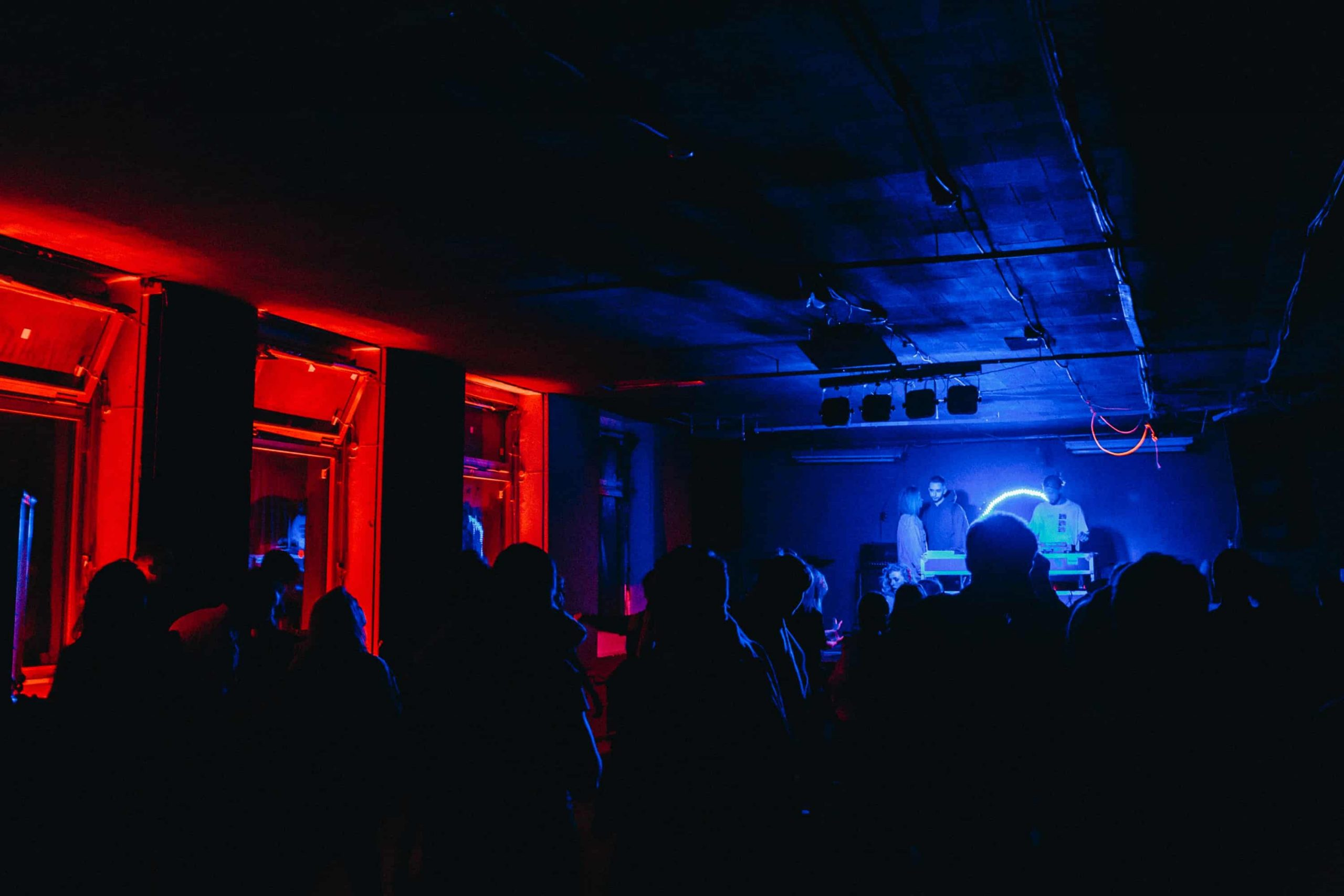 Nightlife crowd Alexander Popov