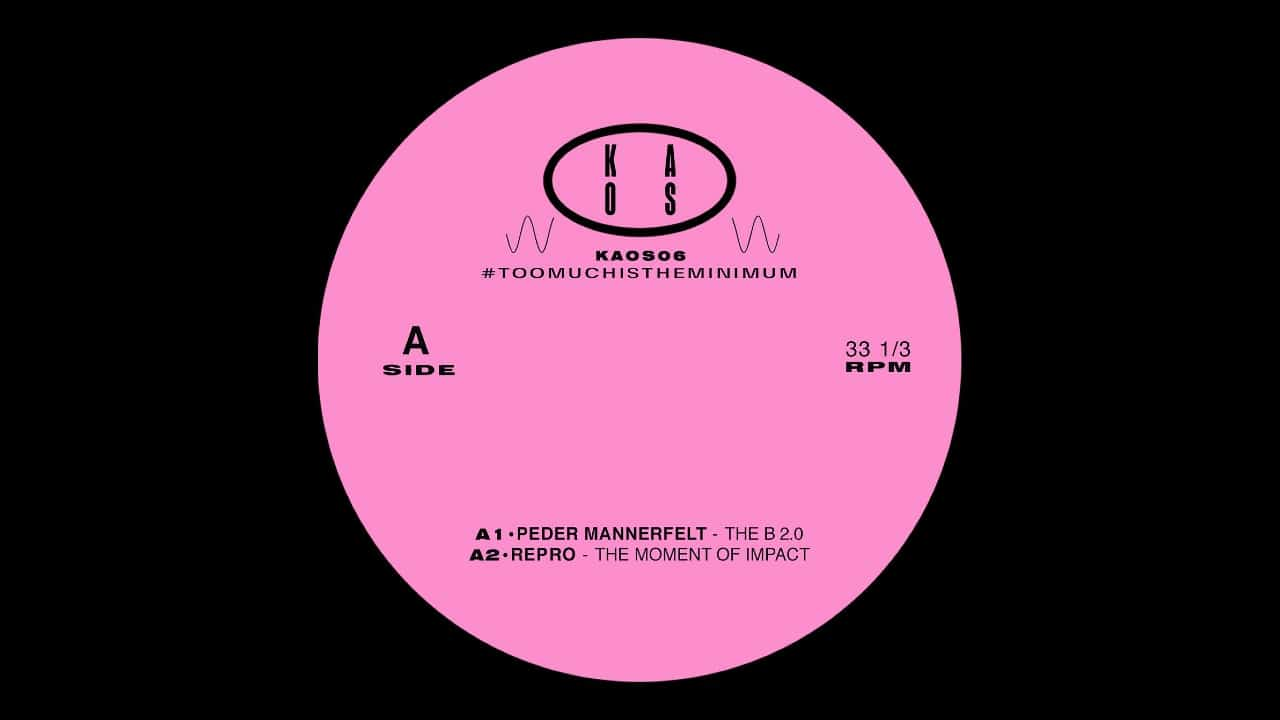Darc Marc, Repro, Uncrat, Peter Mannerfelt Unite on Techno EP, #TOOMUCHISTHEMINIMUM