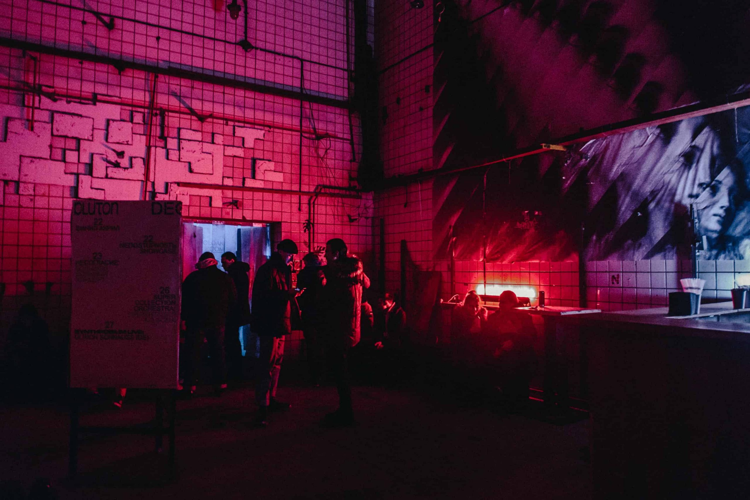 Russian nightclub entrance Alexander Popov