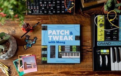 Moog Music and Bjooks Team Up for New Kim Bjørn Book, Patch & Tweak With Moog'