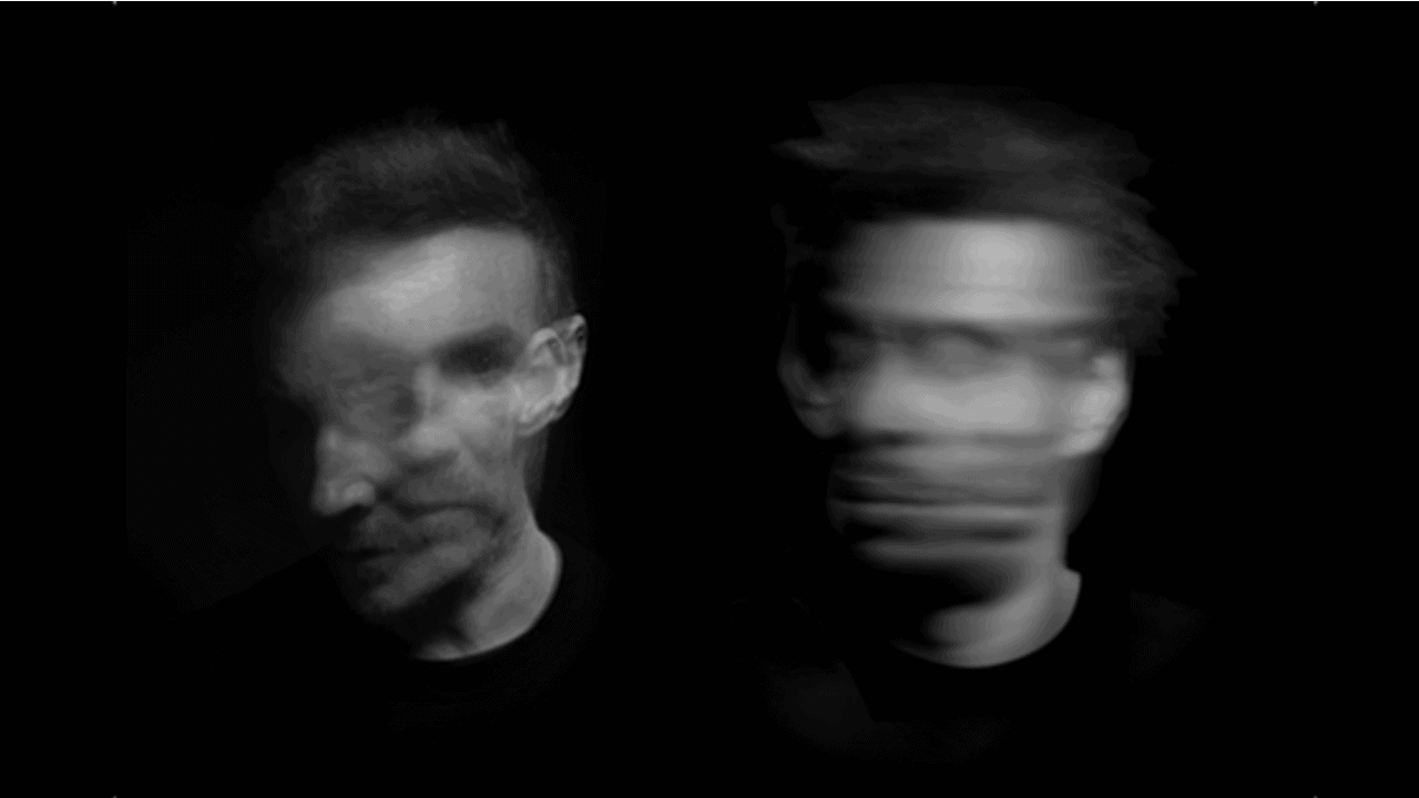 Massive Attack black and white motion blur