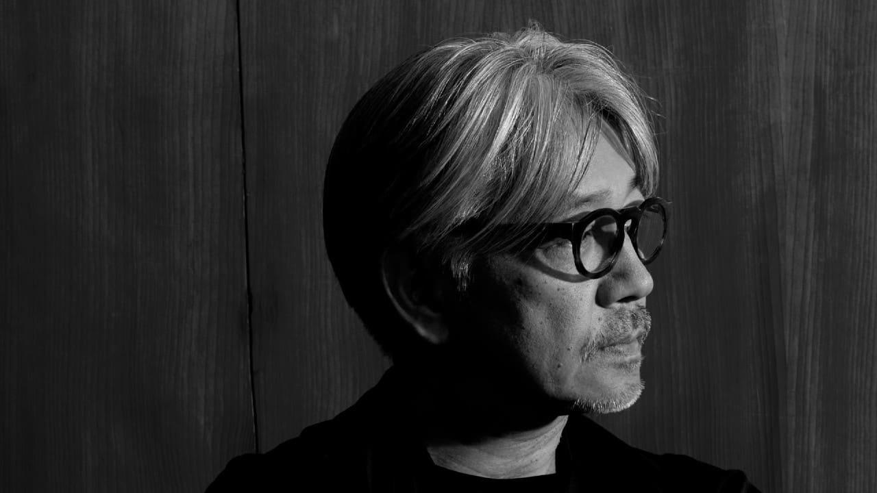 Ryuichi Sakamoto black and white