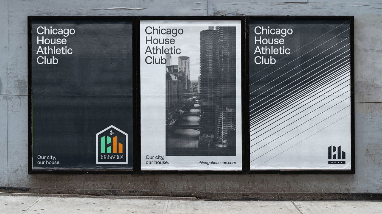 Chicago House Athletic Club posters