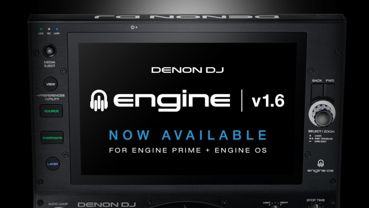Denon Engine 1.6 update with Dropbox
