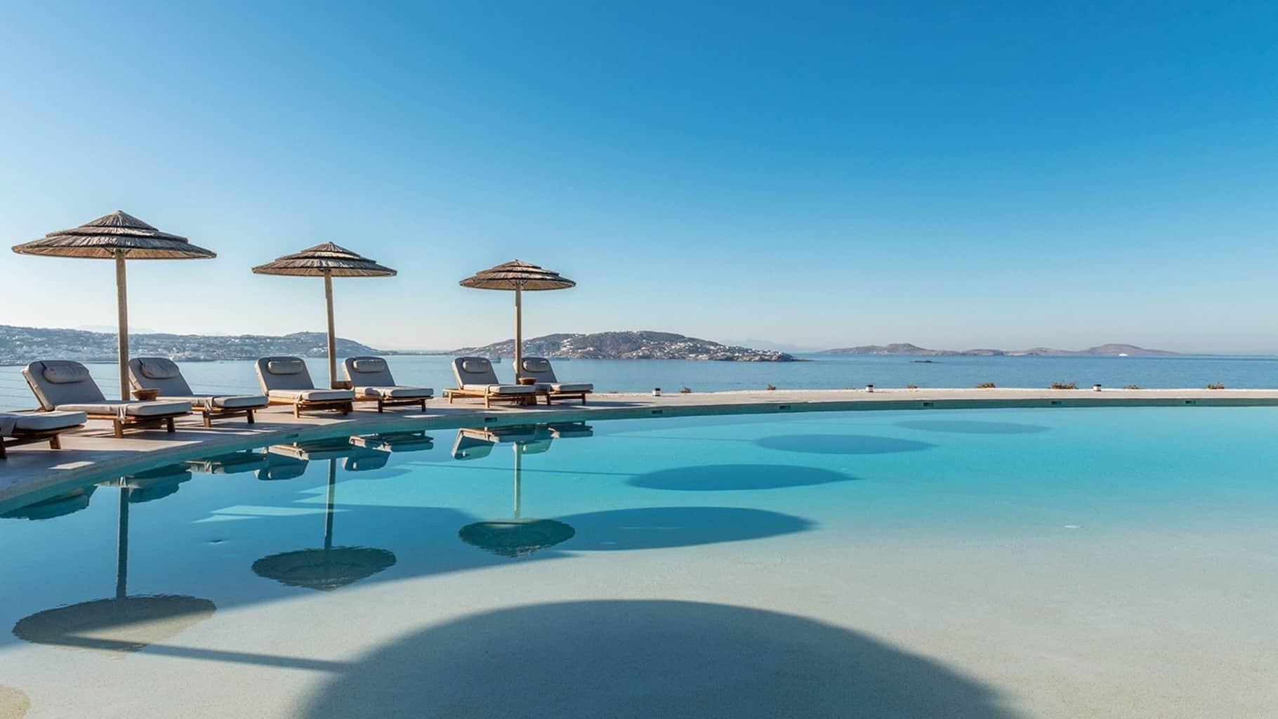 Destino Pacha Mykonos poolside