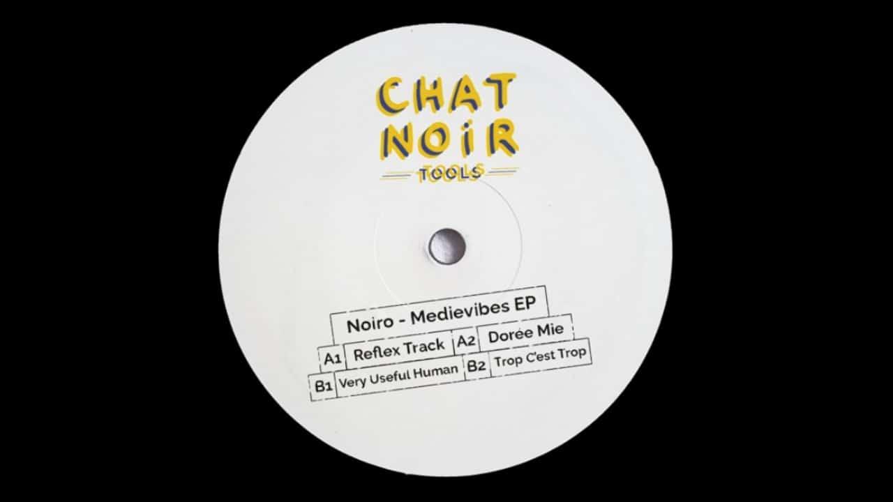 Noiro Medievibes EP Chat Noir artwork