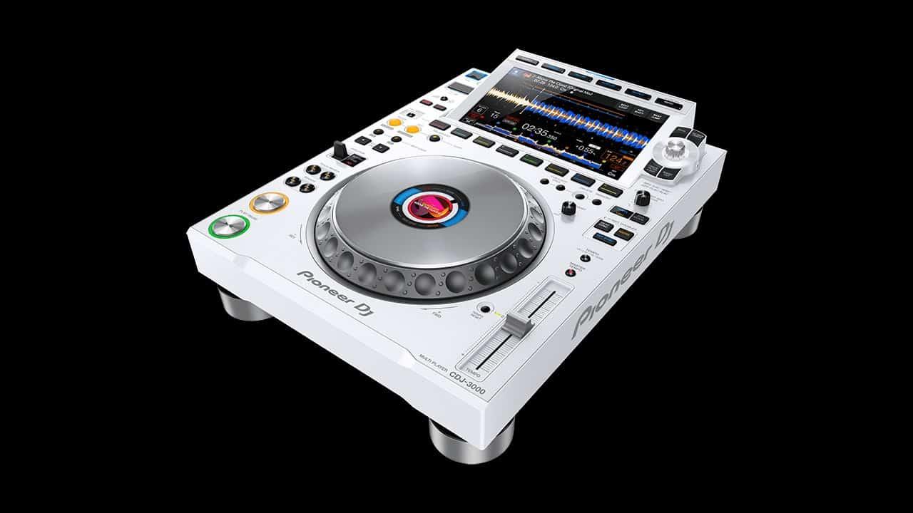 Pioneer DJ CDJ-3000 white black