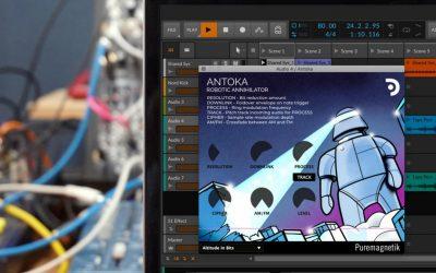 Puremagnetik Releases Music-Distorting Plugin, Antoka