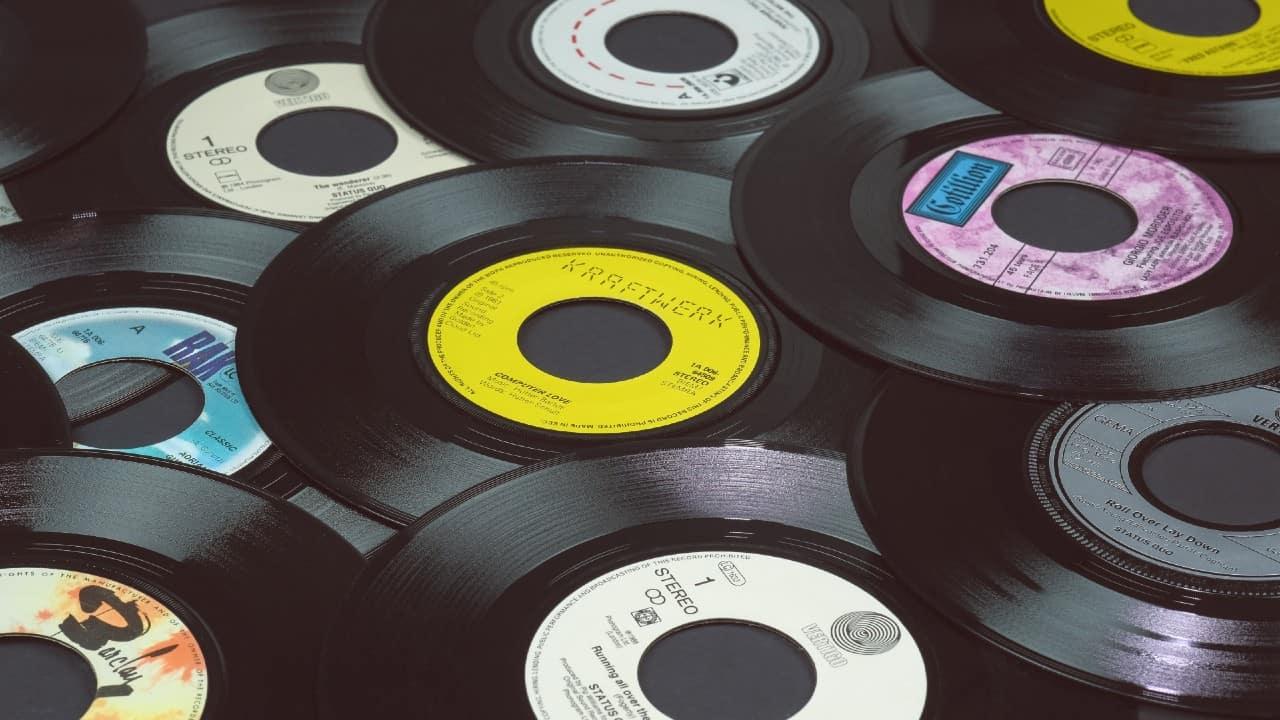 Vinyl record singles Eric Krull