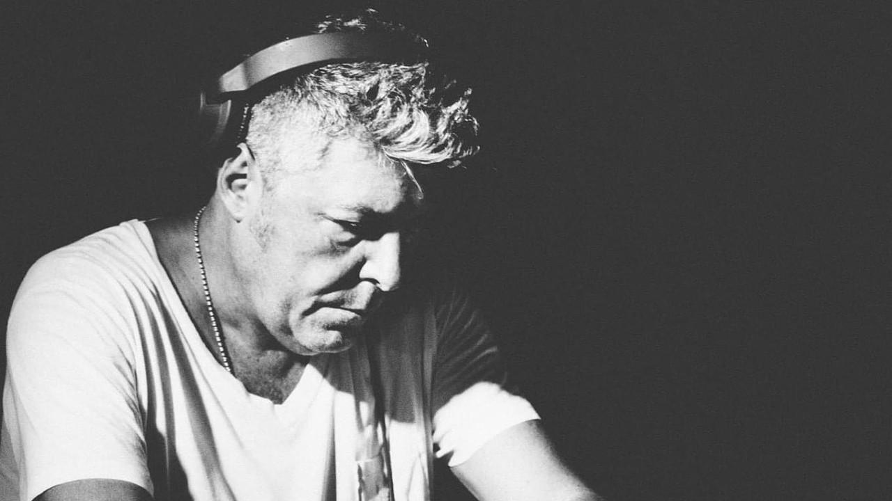 Claudio Coccoluto DJ black and white