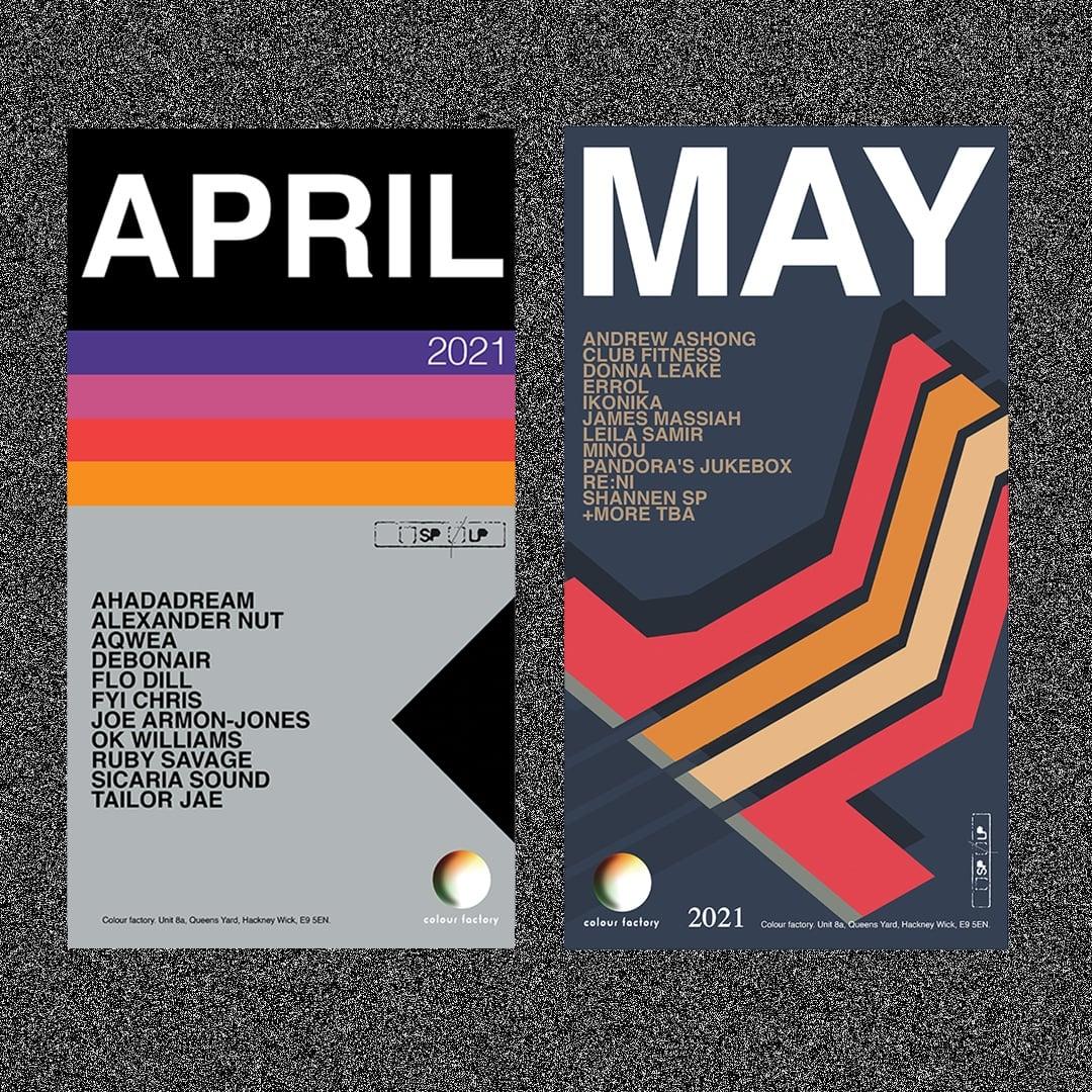Colour Garden April May 2021 Lineups