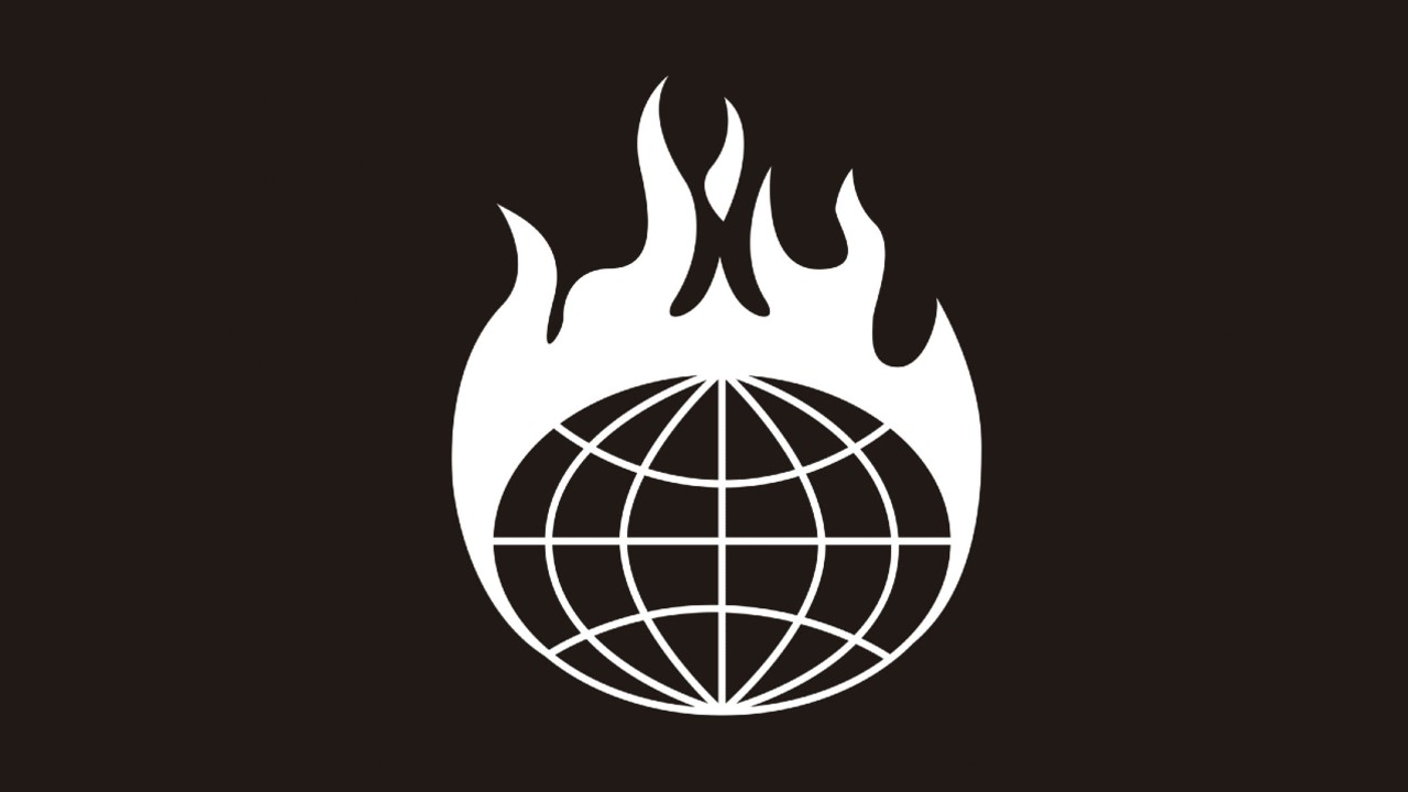 Global Offensive Corporation logo black dark brown