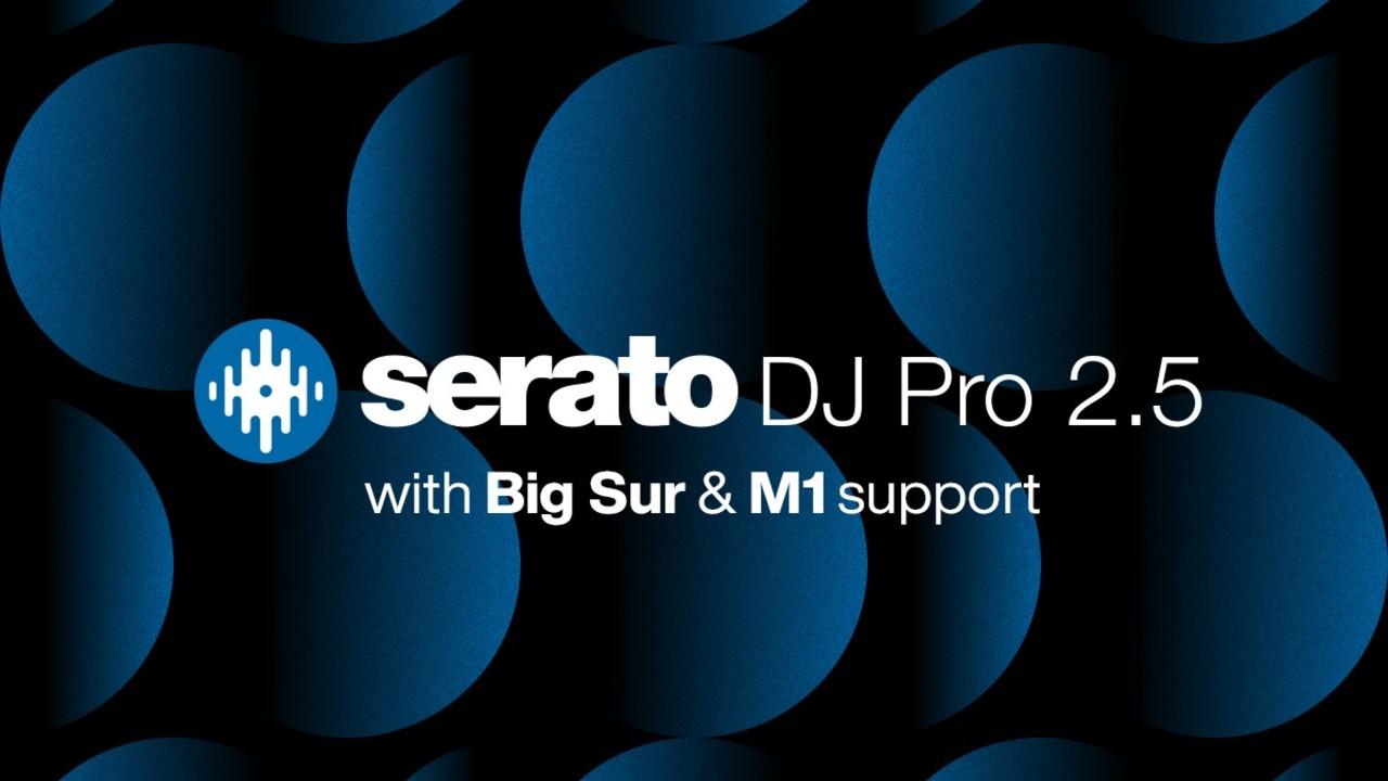 Serato DJ Pro 2.5 blue black graphic