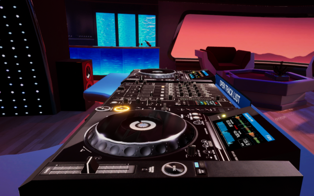 Pioneer DJ's CDJ-3000 and DJM-900 NXS2 Now Available in VR on Tribe XR