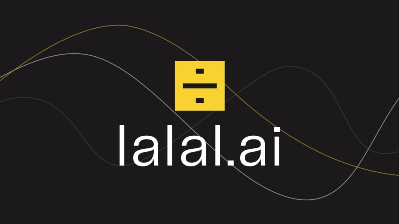 Lalal.ai logo wave design