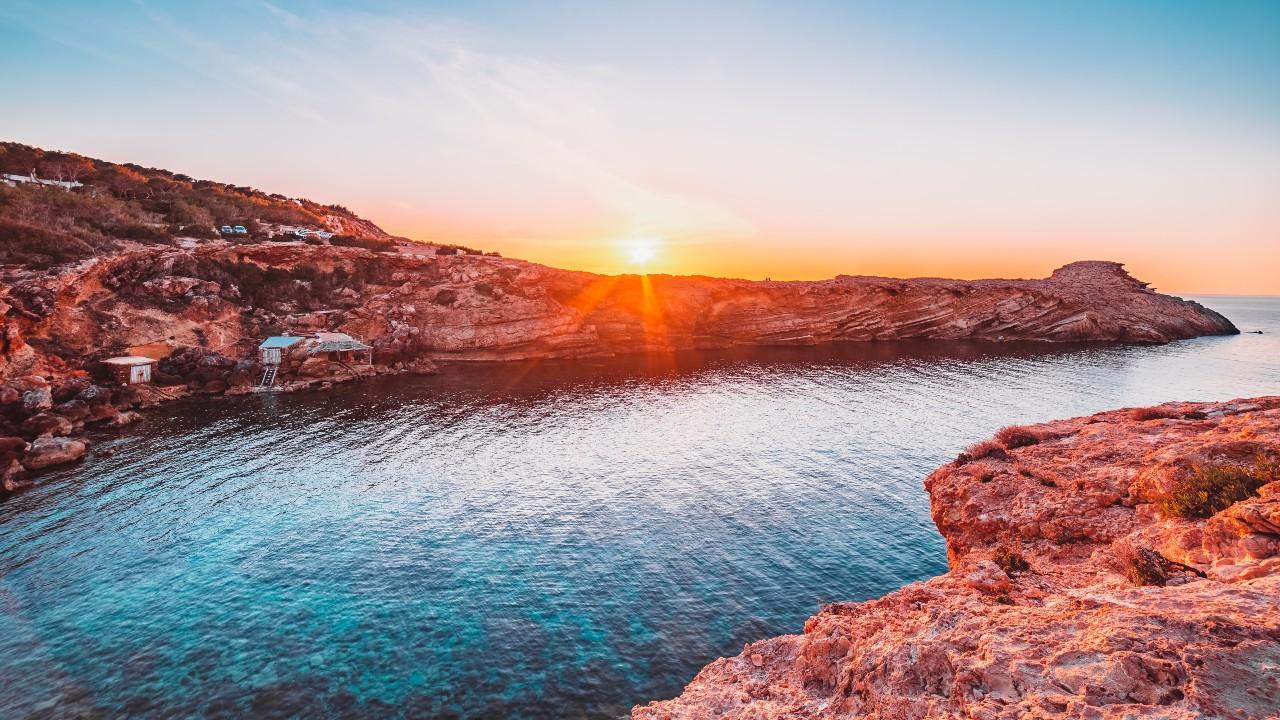 Punta Galera Ibiza sunset Michael Tomlinson