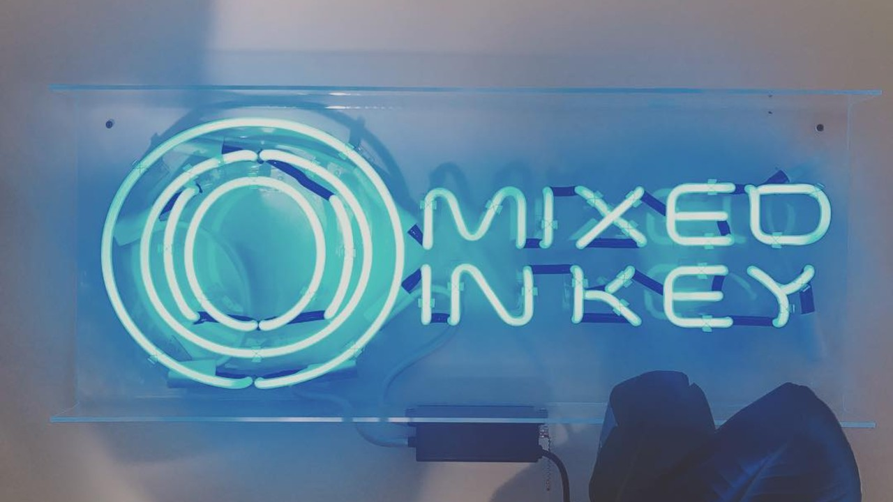 Mixed In Key neon sign