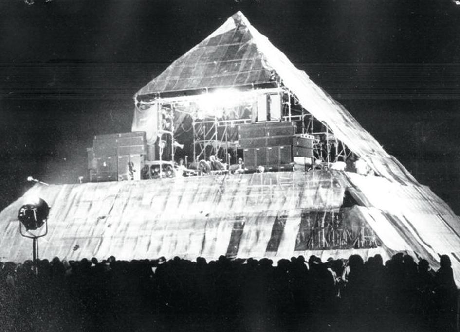 Funktion-One Tony Andrews Glastonbury Festival 1971