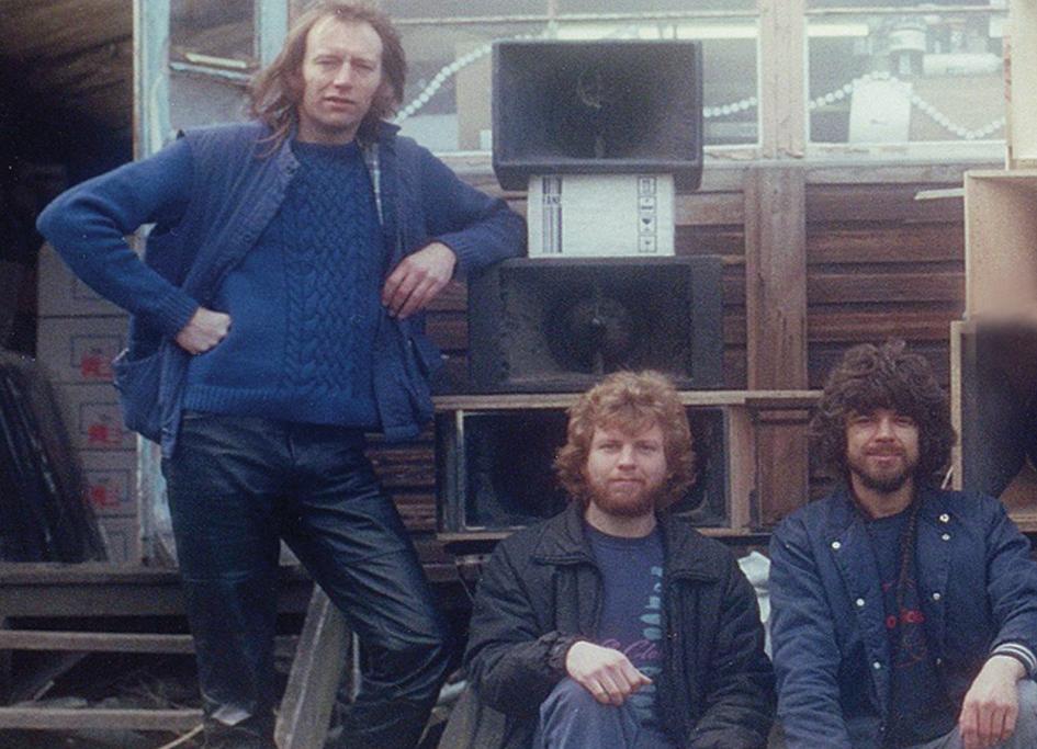 1978 Tony Andrews and John Newsham Funktion-One Turbosound