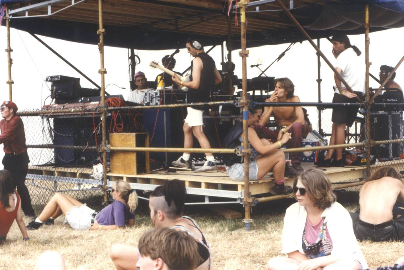 1992 Glastonbury Festival Funktion-One