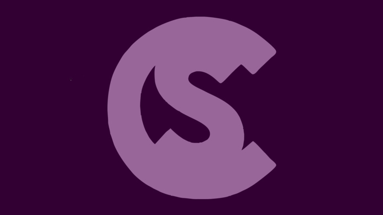Clubbing Spain logo violet purple