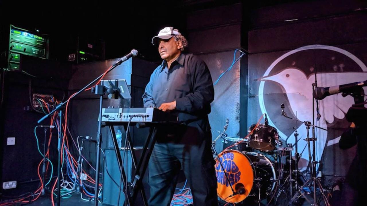 Rodney Bakerr onstage performance