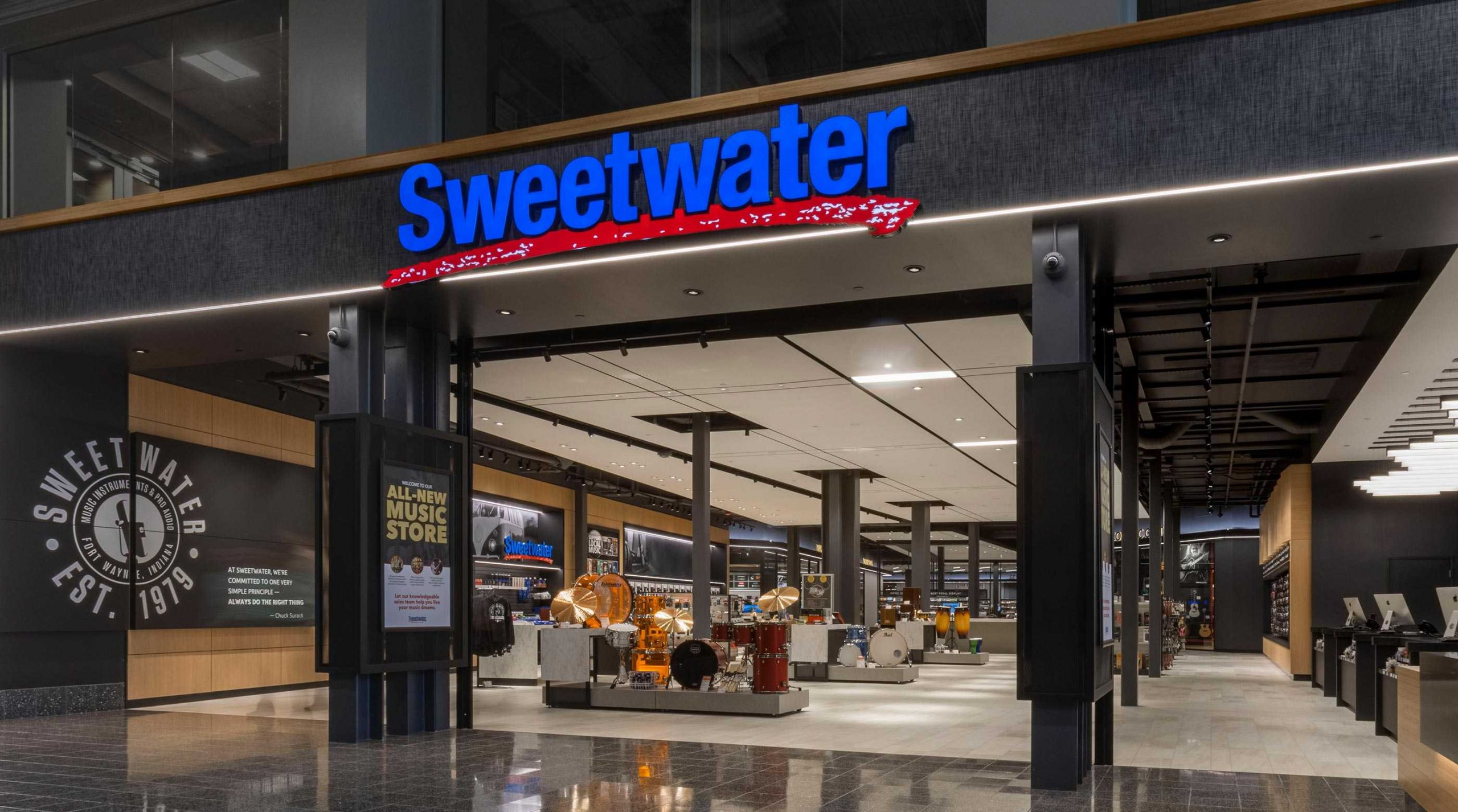 Sweetwater store Ft. Wayne Indiana