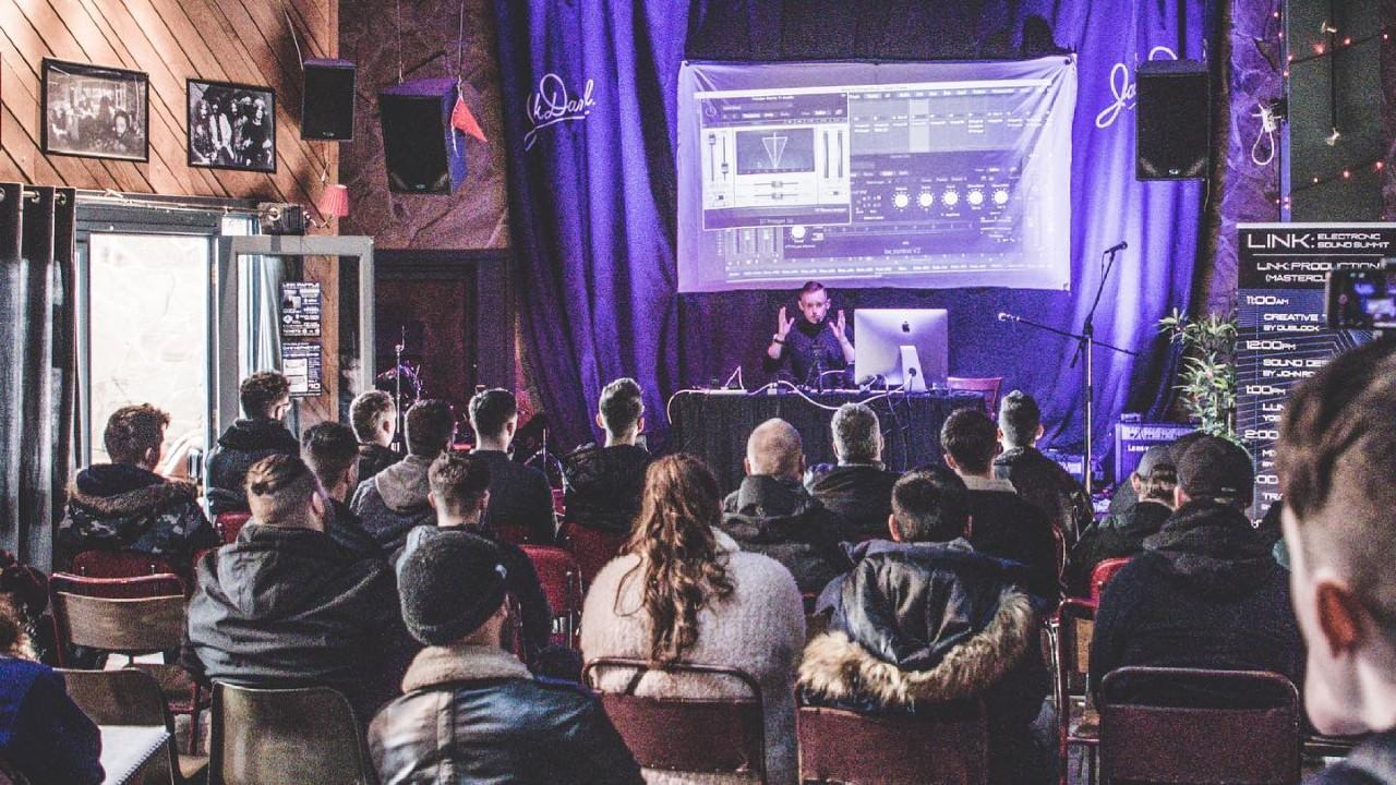 Liverpool Audio Network Electronic Sound Summit crowd presentation