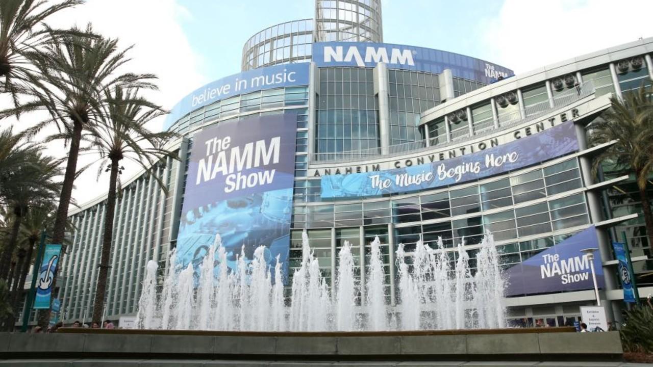 National Association of Music Merchants NAMM fountains