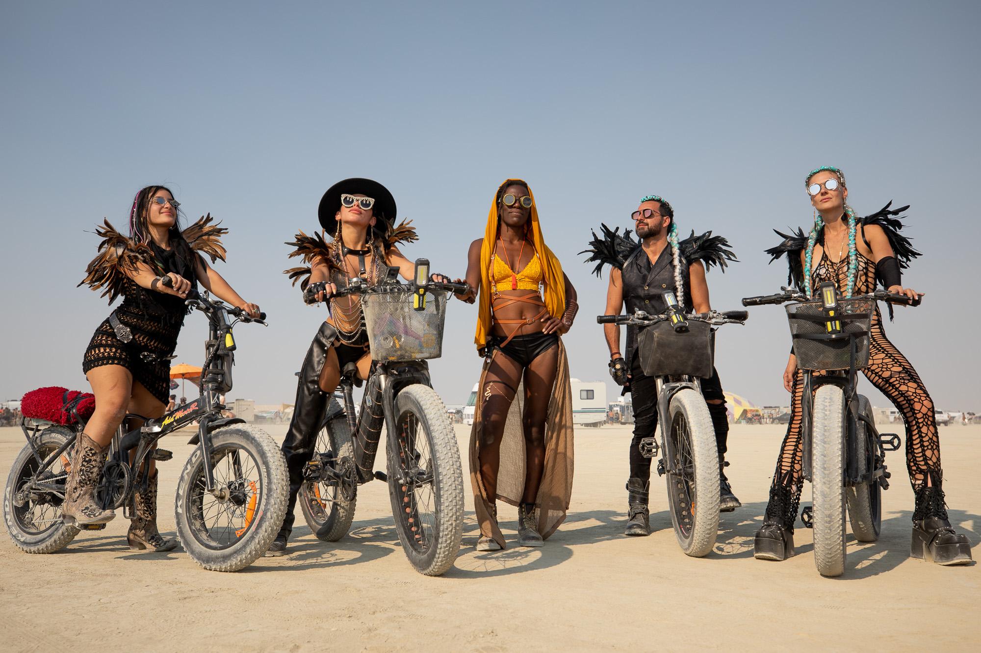 Burning Man 2021 electric bikes