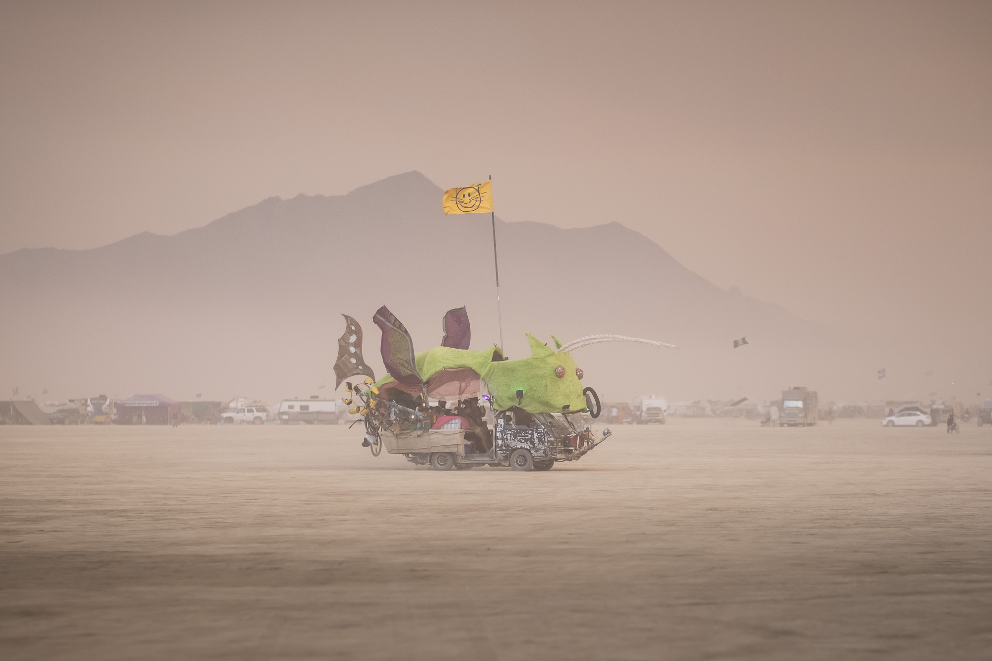 Art Car Burning Man 2021 Scott London